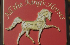 All the King's Horses Sign Detail | Danthonia Designs