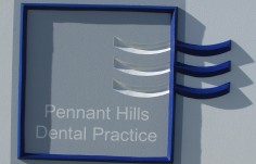 Pennant Hills Dental Sign Detail