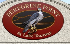 Peregrine Point Property Sign