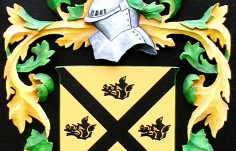 Purcell Family Crest Detail