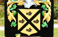 Purcell Family Crest Sign