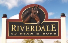 Riverdale Farm Sign