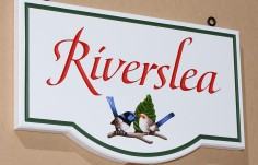 Riverslea Bird Sign