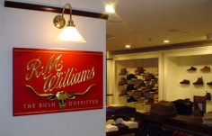 R.M. Williams Retail Sign on Site
