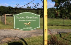 Second Wind Farm Sign