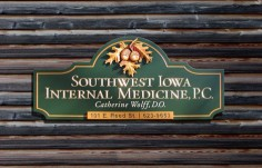 Southwest Iowa Medical Office Sign