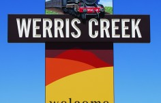 Werris Creek Town Welcome Sign