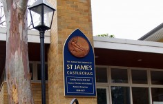 St. James Church Sign