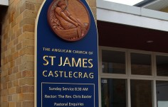 St. James Anglican Church Sign