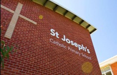St. Joseph's Catholic Primary School Sign