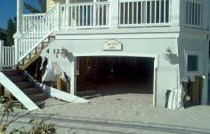 Sun Daze Beach House Sign after hurricane