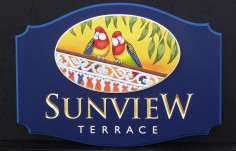 Sunview Terrace Property Sign