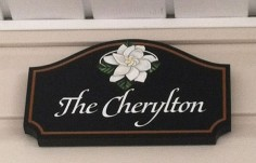The Cherylton House Sign
