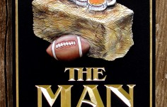 The Man Barn Cave Sign