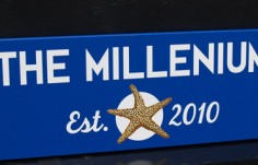 The Millenium Property Sign