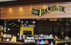 The Tea Centre Sign on site