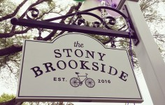 The Stony Brookside sign
