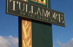 Tullamore Town Entry Sign