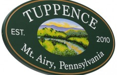 Tuppence Property Sign