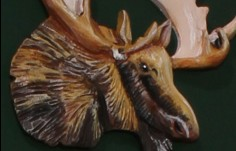 Wild Cow Cabin Sign